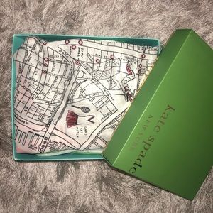 Kate Spade Map Oblong Scarf